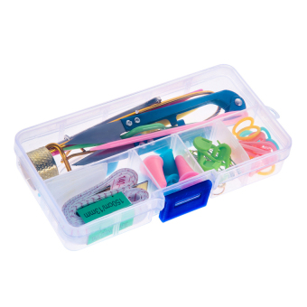 1 SET Home DIY Knitting Tools Set Crochet Hook Stitch WeaveAccessories Supplied With Case Box Yarn Knit Kit - intl