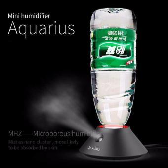 Humidifier dengan Slot Botol Mineral-hitam