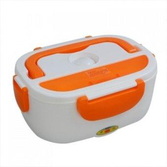 Harga LaCarla Power Electric Lunch Box Penghangat Makanan - Orange