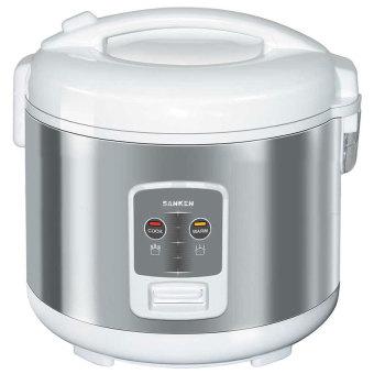 Sanken Sj-2200 Rice Cooker - Silver [1.8 L]