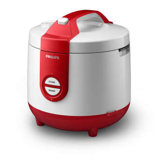 Philips Rice Cooker / Magic Com HD3118/32 - Putih-Merah