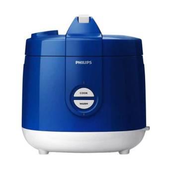 Philips HD 3127/31 Magic Com Rice Cooker - Penanak Nasi - Kap 2 Liter - Biru