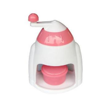Seniora's Snow Cone Ice Machine - Alat Serut Es Manual Pink