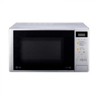 LG Microwave Grill - MH6042D - Putih - Khusus Jabodetabek