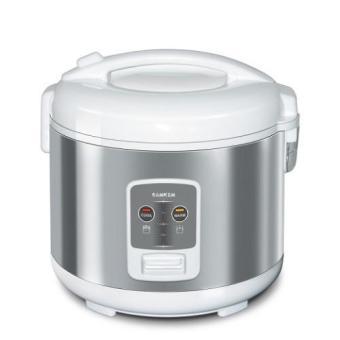 Sanken SJ-2200 Rice Cooker Tradisional 1,8L - Silver
