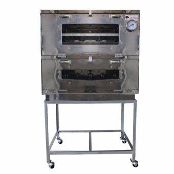 Kiwi - Oven Gas Stainless Steel Ukuran 85x55cm - Perak