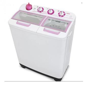 Sanken - Mesin Cuci TW-1123GX-White Pink