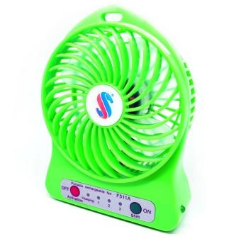 Universal Battery Cell Cooling Fan 18650 Battery - Hijau