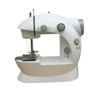 Tokomuda Mini Sewing Machine 4 in 1 with Adaptor - Putih