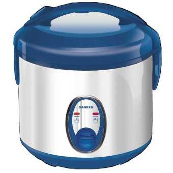 Sanken - Magic Com SJ120SP - 1 L - Biru-Silver
