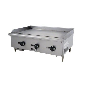 Modena Profesional - FT 6930G - Gas Fry Top - 3 Burner 90cm - NG / LPG