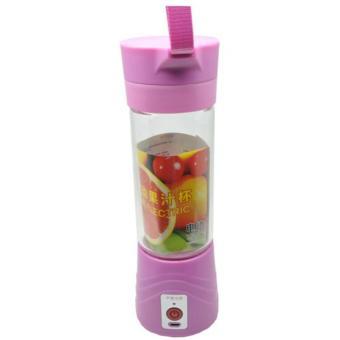 Blender Jus Portable 380ml - Pink