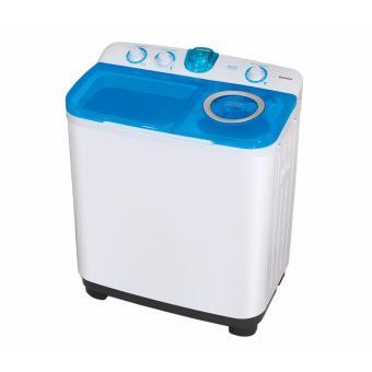 Sanken TW-9880 Mesin Cuci 2 Tabung 7.5Kg - Putih-Biru