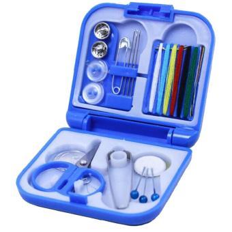 Universal Mini Portable Sewing Kits Packs / Perlengkapan Menjahit - Blue
