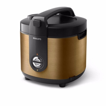 PHILIPS STAINLESS RICE COOKER PRO CERAMIC 2 Liter - HD3128