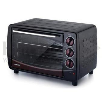 Sharp - Oven EO28 Kapasitas 28L ( Toast,Grill,Bake,Roast&Rotisserie) - Black