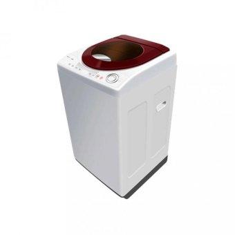 Polytron Mesin Cuci 1 Tabung Top Loading Zeromatic Maya PAW8511WM Merah - Khusus Jabodetabek
