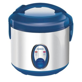 Sanken Magic Com, Rice Cooker, Magic Jar, Penanak Nasi Super Com Stainless 1 Liter – SJ120SP