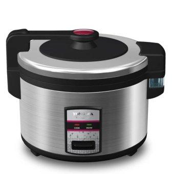 Yong Ma Rice Cooker MC-25000W - Penanak Nasi Jumbo Kap. 5.4 L - Silver