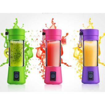 Shake N Go Blender Portable Rechargeable MultiColor