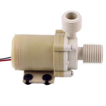 12V Voltage 3M Solar Hot Water Pump Circulation Brushless Motor 212 F w/ Coupler