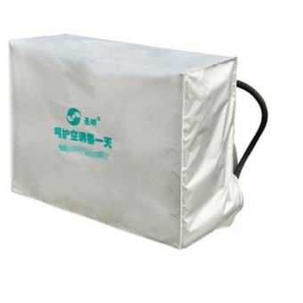 Outdoor 1.5P Air Conditioner Full Pack Weather Wrap Cover Hood Linen Waterproof 85 X 57 X 32cm Silver Grey
