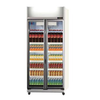 GEA EXPO-800 Display Cooler Showcase 800 Liter - Silver (Khusus JABODETABEK)