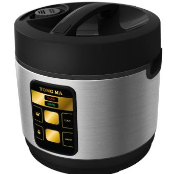 Yong Ma Magic Com, Rice Cooker,Magic Jar, Penanak Nasi 2 Liter YMC114 (Garansi Resmi Yong Ma) Silver