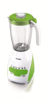 Philips Blender HR2116 - Hijau Putih Kaca