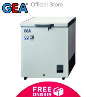 GEA Chest Freezer AB-106 R [102 L] - Putih [Khusus JABODETABEK]