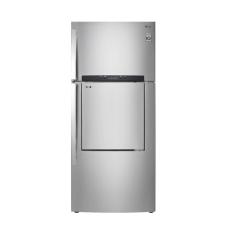 LG Kulkas Inverter GC-D513HLAL - 168 Cm - 425L - Silver Door In Door- Khusus Jabodetabek