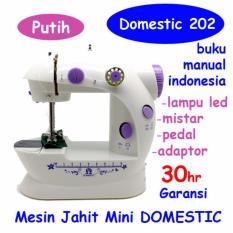 Mesin Jahit Mini S2 LED / FHSM 202 LED - Putih