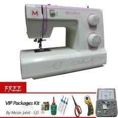 Messina P5729 Mesin Jahit Portable + Gratis VIP Packages Kit