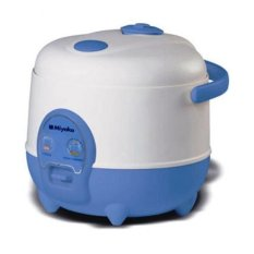Miyako 3 in 1 Rice Cooker 0.6 Liter MCM-606 - Putih