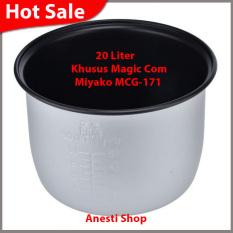 Miyako Panci Teflon Kap 20 Liter Khusus Magic Com Miyako MCG-171 - 100 % Asli