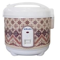Miyako Rice Cooker Motif Batik PSG-607 Multi Cooker - Coklat