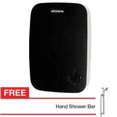 Modena - Water Heater Pemanas Air Instant Veloce EI3 + Gratis Hand Shower - Hitam