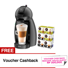 Nescafe Dolce Gusto Piccolo + 6 Box Capsules + Cash back voucher NDG Rp. 300,000