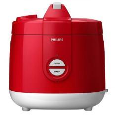 Philips HD 3127/32 Magic Com Rice Cooker - Penanak Nasi - Kap 2 Liter - Merah (Red)