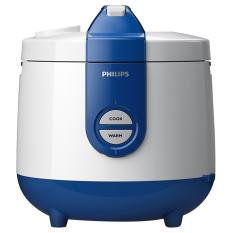 Philips Rice Cooker HD 3118-32 - Biru - Khusus Kota Tertentu di Jawa Timur