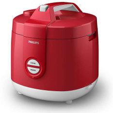 Philips Rice Cooker HD3127/32 - Putih-Merah