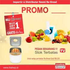 ReBread RB-250 Gold Bread Maker Mesin Roti Otomatis - Promo