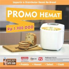 ReBread RB-250 Gold Bread Maker Mesin Roti Otomatis - Promo Hemat