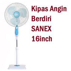 Sanex Stand Fan / Kipas Angin Berdiri 16 inch ( Produk Bergaransi Resmi )