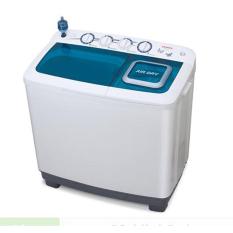 Sanken Mesin Cuci 2 Tabung 11 Kg - TW-1222 - Putih - Hijau - Khusus Jabodetabek