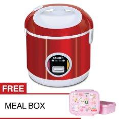 Sanken Rice Cooker SJ-3000 - 2L, Merah