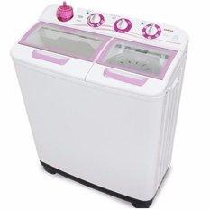 Sanken TW-1123GX Mesin Cuci 2 Tabung - Putih (Khusus Jabodetabek) (White)