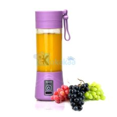 Shake and Go Juicer Tumbler Rechargeable and Powerbank - Ungu