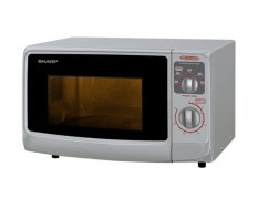 Sharp Microwave Oven R-222Y(S)- Low Watt - Bright Silver