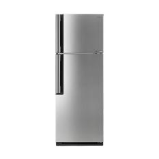 Sharp - Refrigerator 420Lt Silver
